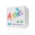 бумажные салфетки magic белые