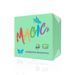 бумажные салфетки Magic зеленого цвета